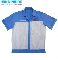Áo Kỹ Thuật Trưởng  Honda Tay Ngắn