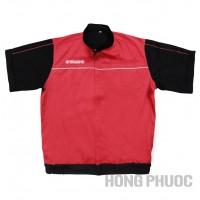 áo đồng phục kỹ thuật viên yamaha