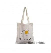 Túi vải trắng - trứng